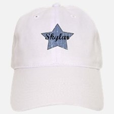 Skylar (blue star) Baseball Baseball Cap