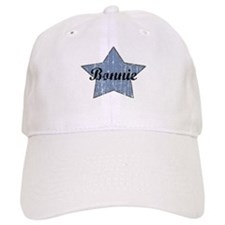 Bonnie (blue star) Baseball Cap