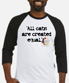 All cats created equal Baseball Jersey
