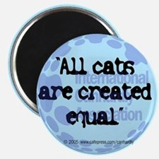 All cats created equal Magnet