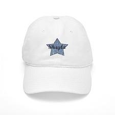 Shayla (blue star) Baseball Cap