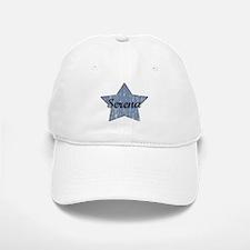 Serena (blue star) Baseball Baseball Cap