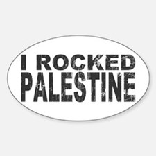I Rocked Palestine Oval Decal