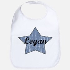 Logan (blue star) Bib