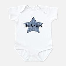 Natasha (blue star) Infant Bodysuit