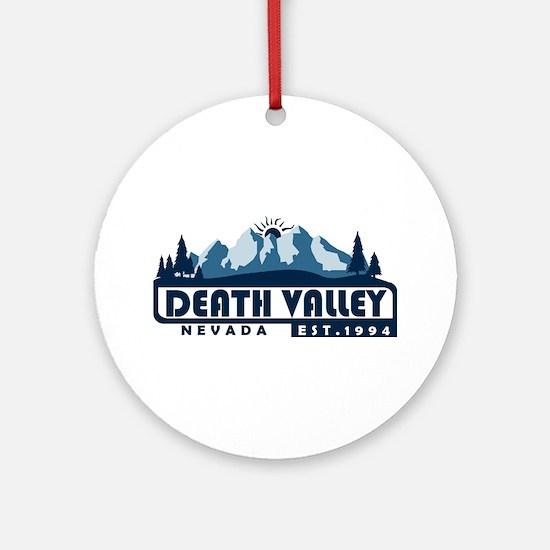 Death Valley - California, Nevada Round Ornament