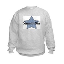 Samantha (blue star) Sweatshirt