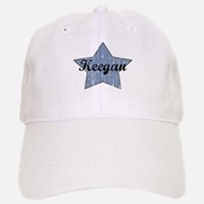 Keegan (blue star) Baseball Baseball Cap