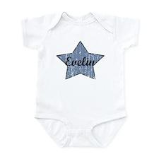 Evelin (blue star) Infant Bodysuit