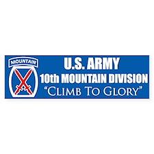 10th Mountain: Bumper Bumper Sticker