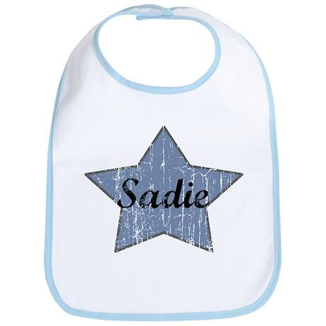 Sadie (blue star) Bib