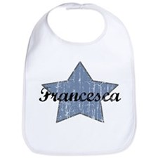 Francesca (blue star) Bib