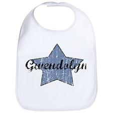 Gwendolyn (blue star) Bib