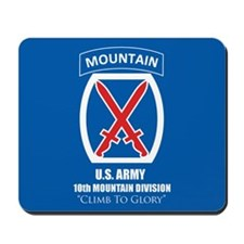 10th Mountain: Mousepad