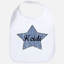 Heidi (blue star) Bib