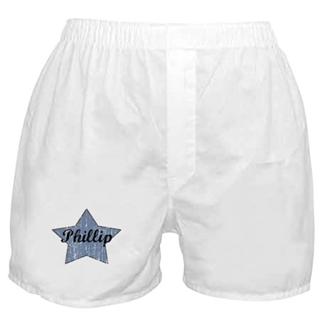 Phillip (blue star) Boxer Shorts
