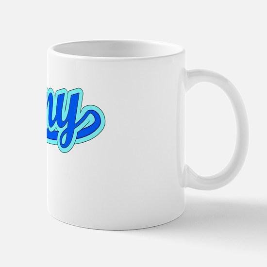 Retro Jovany (Blue) Mug