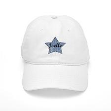 Joelle (blue star) Baseball Cap