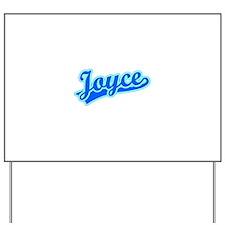 Retro Joyce (Blue) Yard Sign