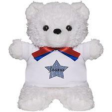 Joana (blue star) Teddy Bear