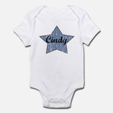 Cindy (blue star) Infant Bodysuit