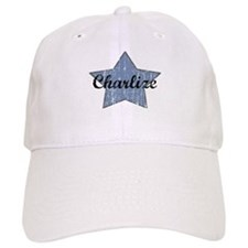 Charlize (blue star) Baseball Cap