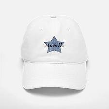 Michelle (blue star) Baseball Baseball Cap