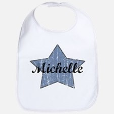 Michelle (blue star) Bib