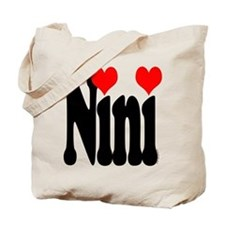I love Nini Tote Bag