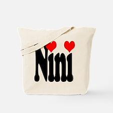 I love Nini Tote Bag