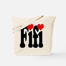 I love Fifi Tote Bag