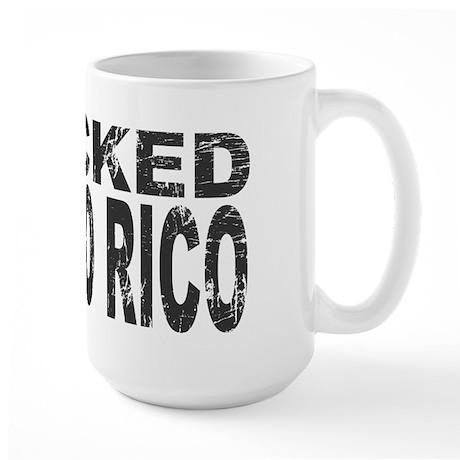 I Rocked Puerto Rico Large Mug