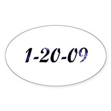 1-20-09 Oval Decal