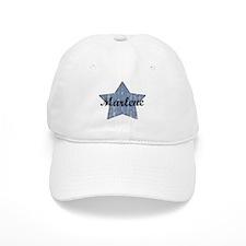 Marlene (blue star) Baseball Cap