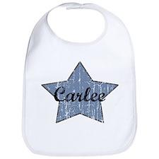 Carlee (blue star) Bib