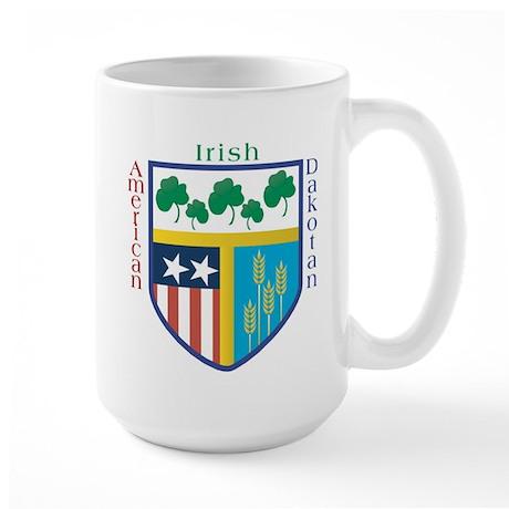 Irish American Dakotan Large Mug