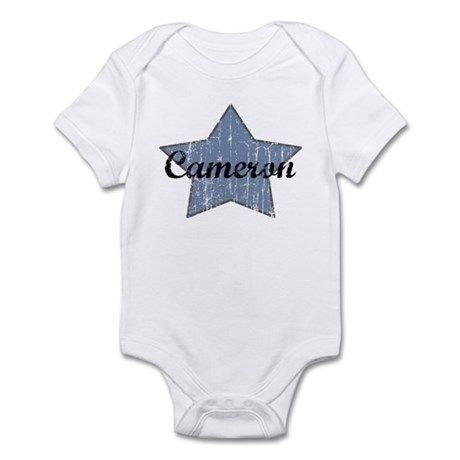 Cameron (blue star) Infant Bodysuit