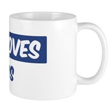 Jesus Loves Kurtis Small Mug