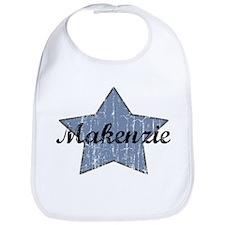 Makenzie (blue star) Bib
