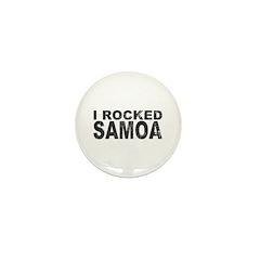 I Rocked Samoa Mini Button (100 pack)