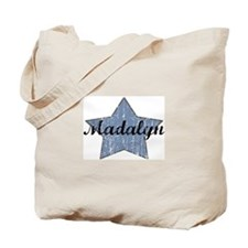 Madalyn (blue star) Tote Bag