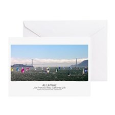 gifts! Alcatraz Greeting Cards (Pk of 10)