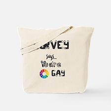 Funny Colorwheel Tote Bag