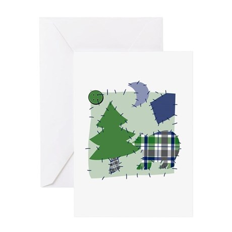 Country Quilt Craft Greeting Card