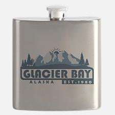 Glacier Bay - Alaska Flask