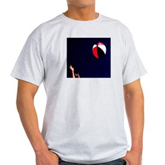 Play (Beach) Ball! Ash Grey T-Shirt
