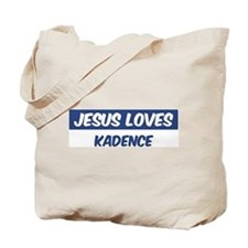 Jesus Loves Kadence Tote Bag