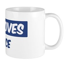 Jesus Loves Kadence Mug
