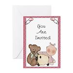 Baby (Girl ) Shower Invitations