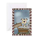 Dog Wash Greeting Card